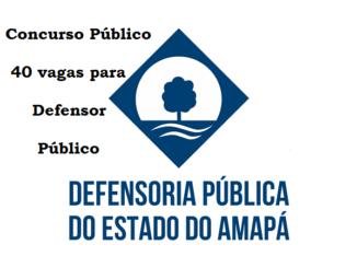 concurso DPE no Amapá