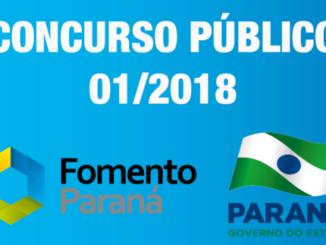 concurso público agência de fomento do paraná