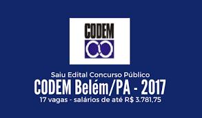 concurso público codem