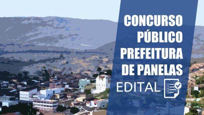 concurso público prefeitura de panelas