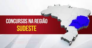 concursos públicos região sudeste 2017