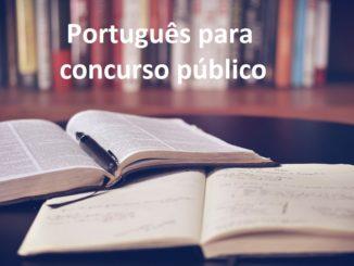 português para concurso público
